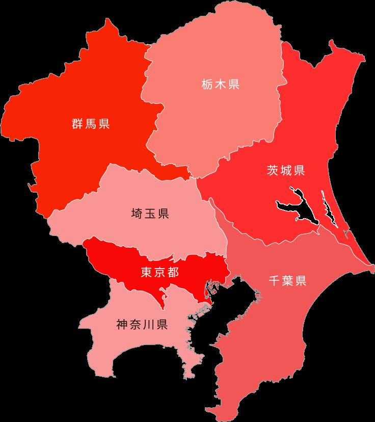 関東支店マップ